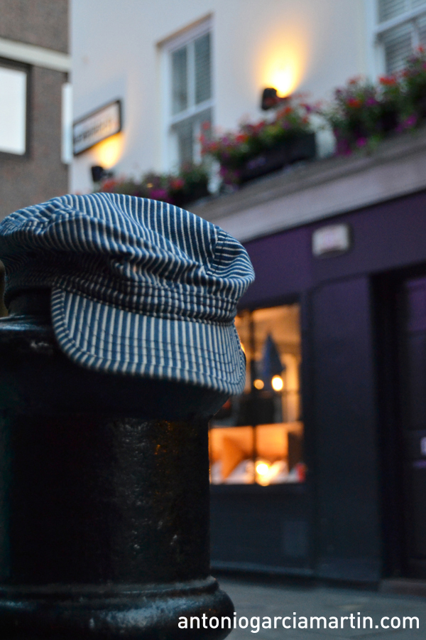 Lost cup in Carnaby Street