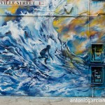 The surfer and the boat at Turville Street