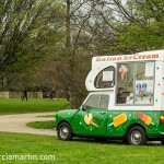 The ice cream van