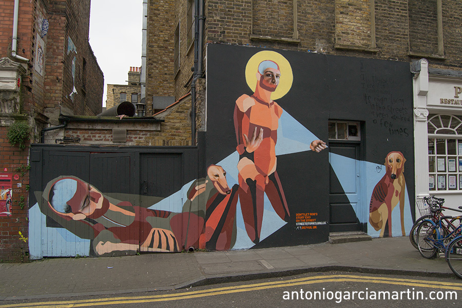 Best Ever for Depaul. Shoreditch. London. Street Art.