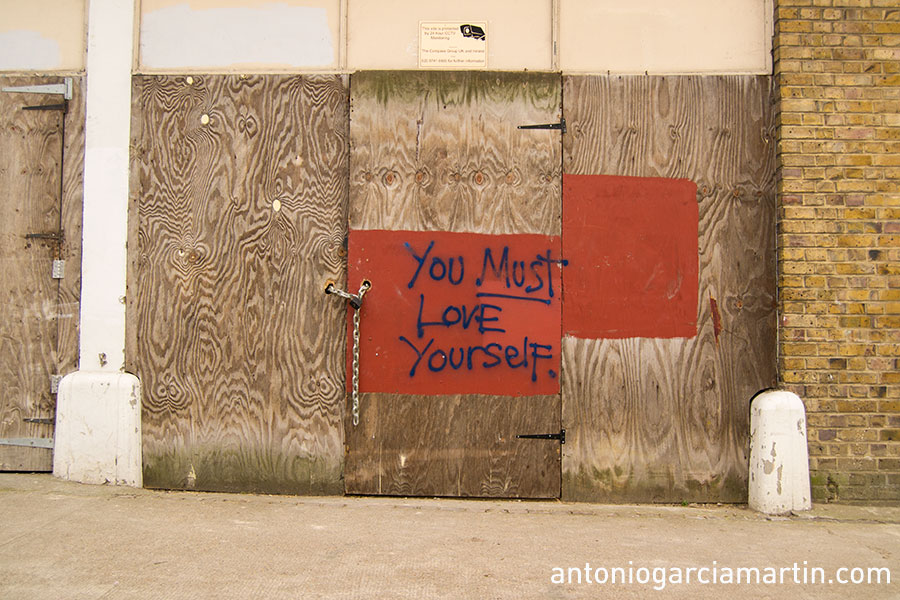 You must love yourself